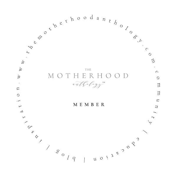 The Motherhood Anthology Membership Badge
