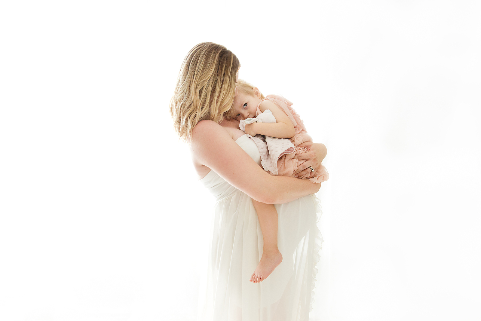 Best of Chandler maternity newborn baby photographer mom with older sibling