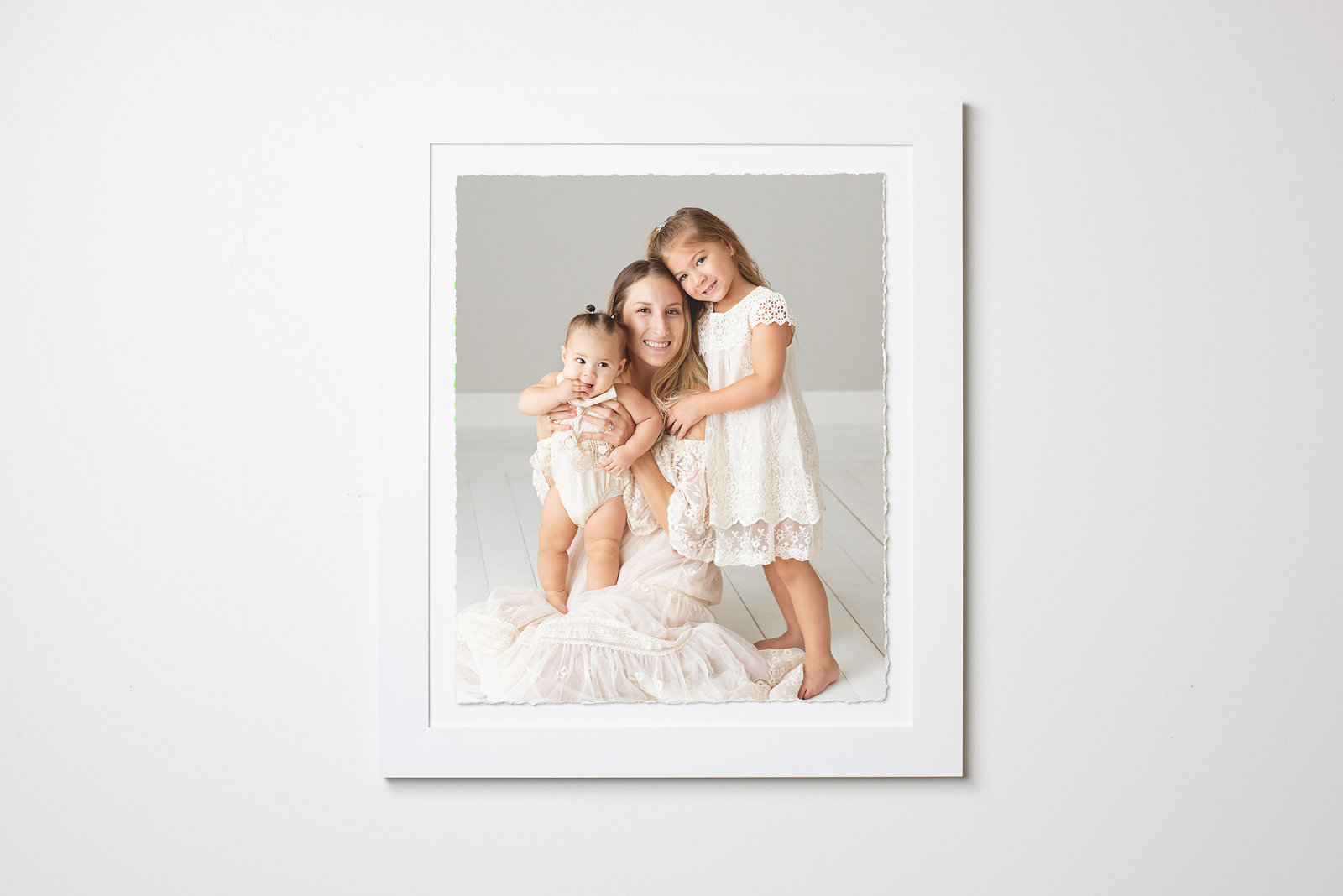 fine art print deckled edge mounted in custom frame | Reaj Roberts Photography